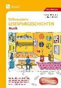 Cover-Bild zu Differenzierte Lesespurgeschichten Musik von Blomann, Sandra