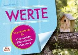 Cover-Bild zu Themenkarten Werte von Franz, Margit
