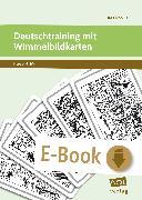 Cover-Bild zu Deutschtraining mit Wimmelbildkarten (eBook) von Livonius, Uta