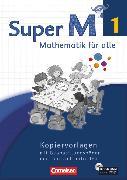 Cover-Bild zu Super M, Mathematik für alle, Westliche Bundesländer - Neubearbeitung, 1. Schuljahr, Kopiervorlagen mit CD-ROM von Braun, Ulrike