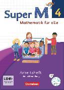 Cover-Bild zu Super M, Mathematik für alle, Westliche Bundesländer - Neubearbeitung, 4. Schuljahr, Arbeitsheft mit interaktiven Übungen auf scook.de, Mit CD-ROM von Manten, Ursula