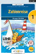 Cover-Bild zu Zahlenreise - Veritas, Software, 1. Schuljahr, CD-ROM - Neubearbeitung