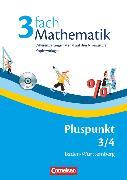 Cover-Bild zu Pluspunkt Mathematik, Baden-Württemberg - Neubearbeitung, Band 3/4, 3fach Mathematik, Kopiervorlagen mit drei Niveaustufen und CD-ROM von Sawall, Nadine