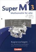 Cover-Bild zu Super M, Mathematik für alle, Westliche Bundesländer - Neubearbeitung, 3. Schuljahr, Kopiervorlagen mit CD-ROM von Manten, Ursula
