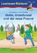 Cover-Bild zu Hotte, Unzelfunzel und der neue Freund. Schulausgabe von Steinwart, Anne