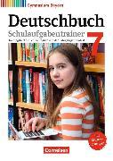 Cover-Bild zu Deutschbuch Gymnasium 7. Schuljahr. Neubearbeitung. Schulaufgabentrainer mit Lösungen. BY von Kößler-Finkenzeller, Bärbel