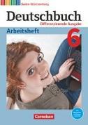 Cover-Bild zu Deutschbuch 6. 10. Schuljahr. Differenzierende Ausgabe. Bildungsplan 2016. Arbeitsheft mit Lösungen. BW von Bublinski, Carolin