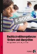 Cover-Bild zu Rechtschreibkompetenzen fördern und überprüfen (eBook) von Krumwiede-Steiner, Franziska