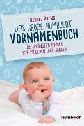 Cover-Bild zu Drews, Gerald: Das große humboldt Vornamenbuch