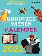 Cover-Bild zu Drews, Gerald: Unnützes Wissen Kalender 2022. Der beliebte, aber überflüssige Abreißkalender