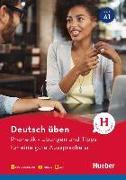Cover-Bild zu Deutsch üben. Phonetik - Übungen und Tipps für eine gute Aussprache A1 von Niebisch, Daniela