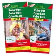 Cover-Bild zu Kuba West und Ost, Autokarten Set 1:400.000. 1:400'000