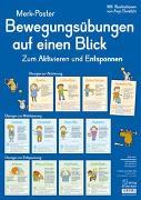 Cover-Bild zu Merk-Poster: Bewegungsübungen auf einen Blick von Redaktionsteam Verlag an der Ruhr