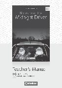 Cover-Bild zu Cornelsen Senior English Library, Literatur, Ab 10. Schuljahr, Notes from the Midnight Driver, Teacher's Manual mit Audio-CD und Klausurvorschlägen von Herlyn, Anne