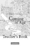 Cover-Bild zu Cornelsen Senior English Library, Literatur, Ab 10. Schuljahr, Coming of Age, Teacher's Manual