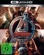 Cover-Bild zu Whedon, Joss (Reg.): Avengers - Age of Ultron - 4K+2D (2 Disc)
