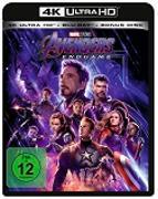 Cover-Bild zu Russo, Anthony (Reg.): Avengers - Endgame - 4K + 2D - (3 Disc)