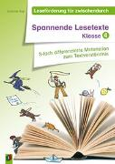 Cover-Bild zu Leseförderung für zwischendurch: Spannende Lesetexte - Klasse 4 von Vogt, Susanne