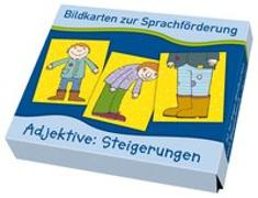 Cover-Bild zu Bildkarten zur Sprachförderung: Adjektive: Steigerungen von Boretzki, Anja (Illustr.)