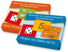 Cover-Bild zu PAKET Bildkarten zur mathematischen Grunderfahrung: Mengen von Boretzki, Anja (Illustr.)
