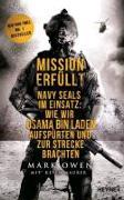 Cover-Bild zu Owen, Mark: Mission erfüllt