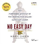 Cover-Bild zu Owen, Mark: No Easy Day