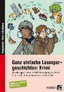 Cover-Bild zu Ganz einfache Lesespurgeschichten: Krimi von Rosendahl, Julia
