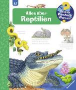 Cover-Bild zu Mennen, Patricia: Alles über Reptilien