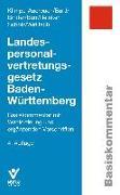 Cover-Bild zu Klimpe-Auerbach, Wolf: Landespersonalvertretungsgesetz Baden-Württemberg