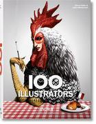 Cover-Bild zu Heller, Steven (Hrsg.): 100 Illustrators