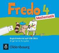 Cover-Bild zu Fredo - Mathematik, Ausgabe A - 2015, 4. Schuljahr, Begleitmaterial auf USB-Stick, Inkl. E-Book als Zugabe und Unterrichtsmanager auf scook.de von Balins, Mechtilde