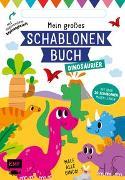 Cover-Bild zu Mein großes Schablonen-Buch - Dinosaurier von Golding, Elizabeth