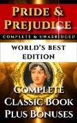 Cover-Bild zu Pride and Prejudice - World's Best Edition (eBook) von Austen, Jane