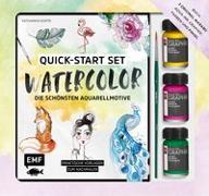 Cover-Bild zu Quick-Start Set - Watercolor - Die schönsten Aquarellmotive
