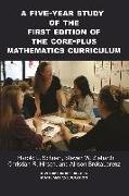 Cover-Bild zu A Five-Year Study of the First Edition of the Core-Plus Mathematics Curriculum (eBook) von Schoen, Harold (Hrsg.)