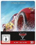 Cover-Bild zu Cars 3 - 3D+2D - Steelbook - limititerte Auflage von Fee, Brian (Reg.)
