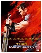 Cover-Bild zu Thor 3 - Ragnarok - 3D+2D - Steelbook - edizione limitata von Waititi, Taika (Reg.)