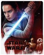 Cover-Bild zu Star Wars - Gli ultimi Jedi - 3D+2D - Steelbook - edizione limitata von Johnson, Rian (Reg.)