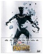 Cover-Bild zu Black Panther - 3D+2D - Steelbook - edizione limitata von Coogler, Ryan (Reg.)