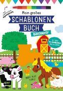 Cover-Bild zu Mein großes Schablonen-Buch - Bauernhof von Golding, Elizabeth