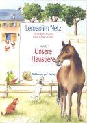 Cover-Bild zu Lernen im Netz 2. Unsere Haustiere von Datz, Margret