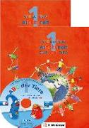 Cover-Bild zu ABC der Tiere 1 - Arbeitsheft Druckschrift, Teil A und B. Neubearbeitung von Kuhn, Klaus (Hrsg.)