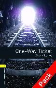 Cover-Bild zu Oxford Bookworms Library: Level 1:: One-Way Ticket - Short Stories audio CD pack von Bassett, Jennifer