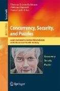 Cover-Bild zu Gibson-Robinson, Thomas (Hrsg.): Concurrency, Security, and Puzzles (eBook)