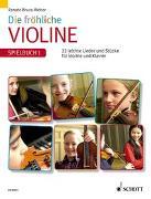 Cover-Bild zu Die fröhliche Violine von Bruce-Weber, Renate