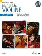 Cover-Bild zu Die fröhliche Violine von Bruce-Weber, Renate (Hrsg.)