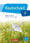 Cover-Bild zu Deutschzeit, Allgemeine Ausgabe, 7. Schuljahr, Arbeitsheft mit interaktiven Übungen auf scook.de, Mit Lösungen von Banneck, Catharina