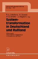 Cover-Bild zu Gloede, Klaus (Hrsg.): Systemtransformation in Deutschland und Rußland
