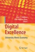 Cover-Bild zu Welfens, Paul J. J. (Hrsg.): Digital Excellence