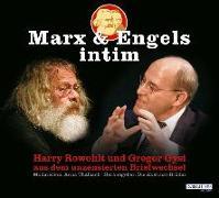 Cover-Bild zu Die Akstinat Brüder (Hrsg.): Marx & Engels intim